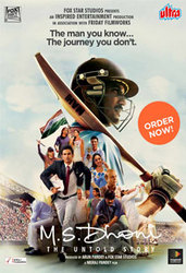 Buy M S Dhoni: The Untold Story Movie DVD Online at Ultra Official Web