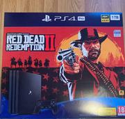 PS4 pro 1 TB Console New.